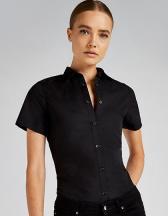 Women`s Tailored Fit Poplin Shirt Short Sleeve