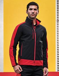 Contrast Printable 3 Layer Membrane Softshell Jacket