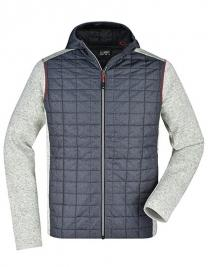 Men's Knitted Hybrid Jacket