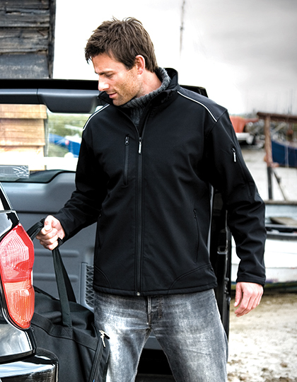 Ripstop Soft Shell Workwear Jacket